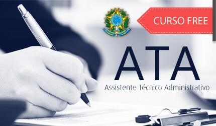 Assistente Técnico Administrativo do Ministério da Fazenda - ATA MF FREE