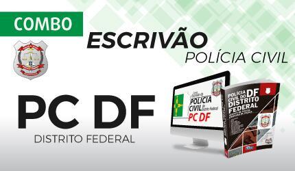 Combo Escrivão de Polícia Civil do Distrito Federal - PC DF