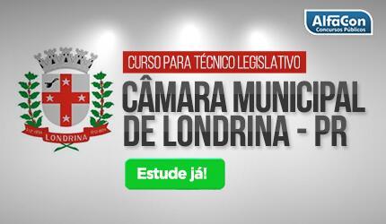 Técnico Legislativo da Câmara Municipal de Londrina - PR